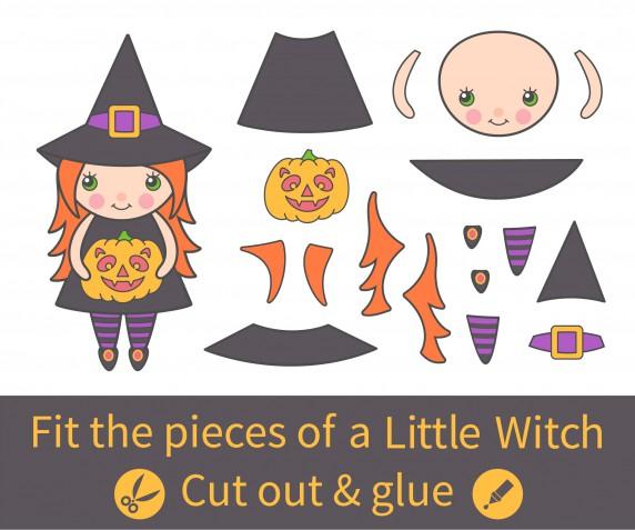 Modelli per decorazioni Halloween in feltro, 7 disegni gratis da non perdere