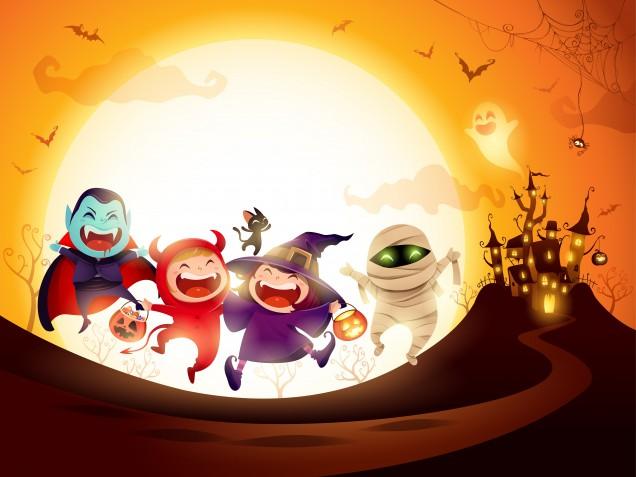Decorazioni Halloween fai da te da stampare, 7 immagini gratis che vorrai scaricare subito