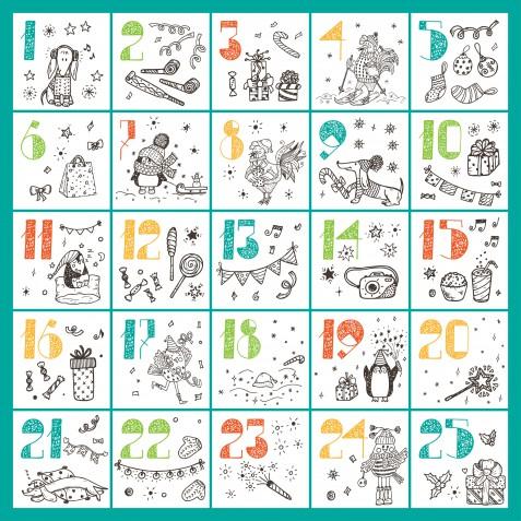 Calendario dell'Avvento da stampare, 5 immagini gratis che ti fanno sentire il Natale