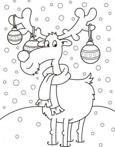 Natale 2018: le immagini da colorare e stampare per i bambini