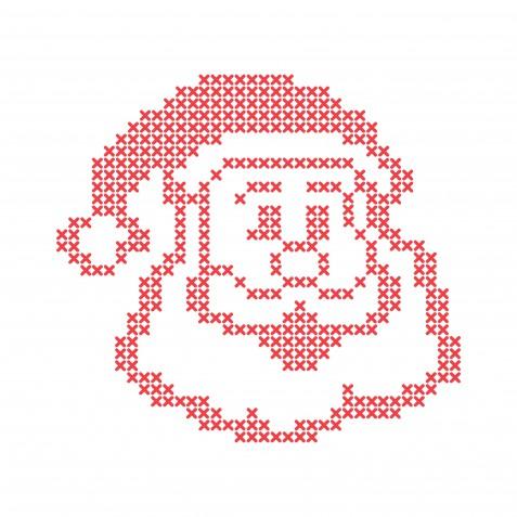 Babbo Natale Punto Croce.7 Schemi Gratis Da Non Perdere Donnad