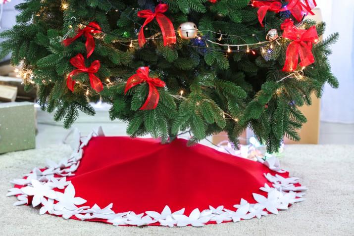 Copri base per albero di Natale fai da te, 5 idee che vorrai fare subito
