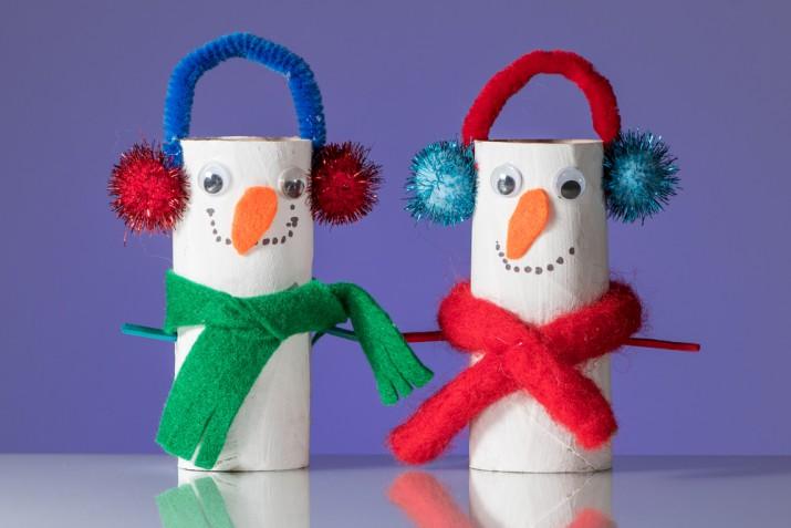 Lavoretti invernali da fare a casa con i bambini, 5 idee creative