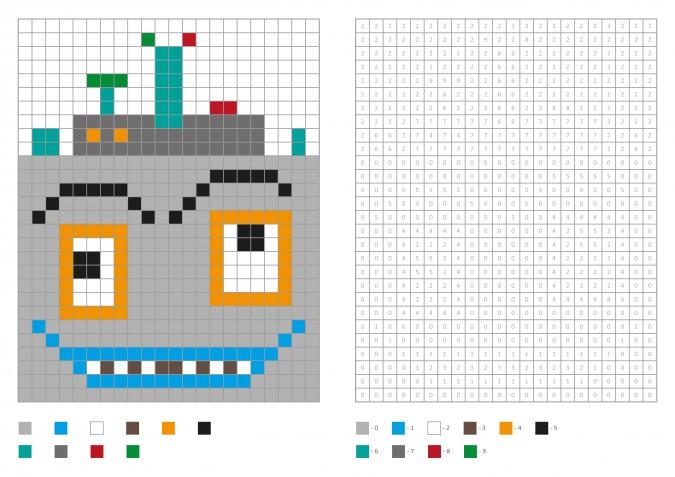 Pixel art Carnevale: 7 disegni gratis da scaricare subito