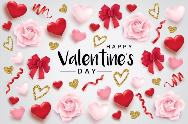 Auguri San Valentino: le immagini da stampare per biglietti romantici