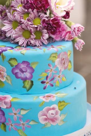 Torte nuziali dipinte: 11 foto stupende a cui ispirarsi