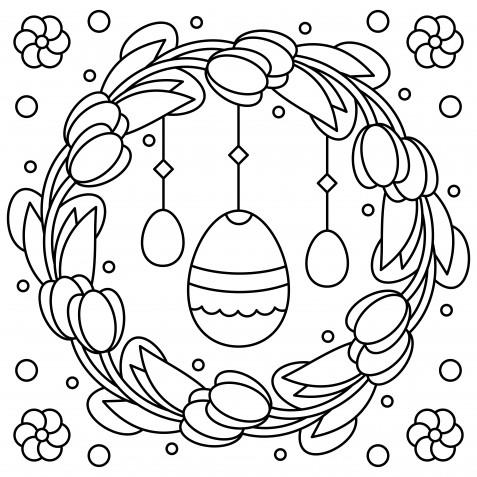 Disegni da ricamare a punto catenella per Pasqua: 9 schemi gratis da non perdere