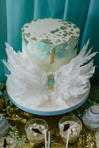 Decorazioni torte Battesimo: 11 idee tenere