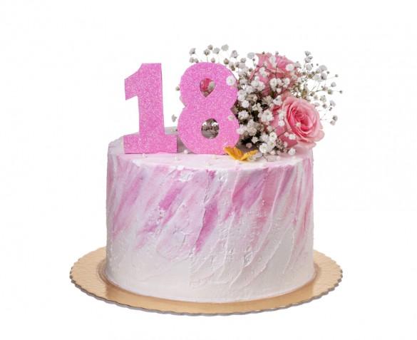 Torte compleanno 18 anni per ragazza: 7 decorazioni trendy