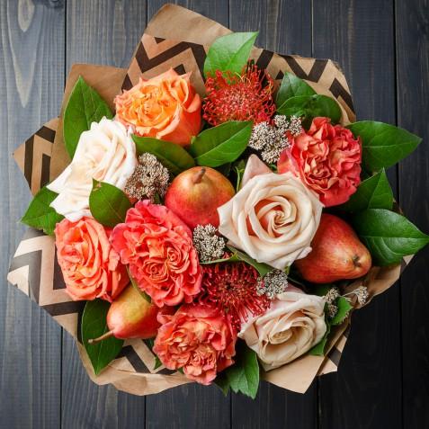 Bouquet sposa con la frutta: 11 foto per farsi un'idea