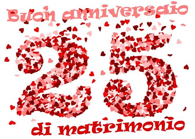 Auguri Anniversario Matrimonio 25 Anni.Le Piu Belle Da Scarica Gratis Donnad