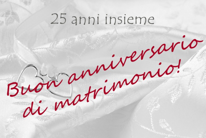 Xxv Anniversario Di Matrimonio.Le Piu Belle Da Scarica Gratis Donnad