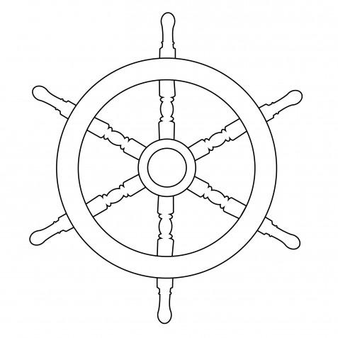 Disegni da ricamare a punto catenella a tema mare: 9 soggetti marini da scaricare gratis