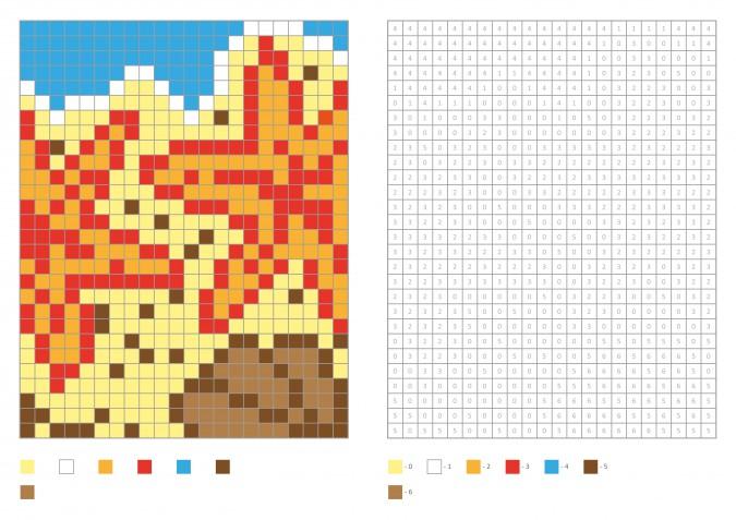 Pixel art estate: 15 disegni gratis per le idee creative della bella stagione
