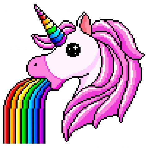 Pixel art a tema unicorno: 7 immagini belle da scaricare gratis