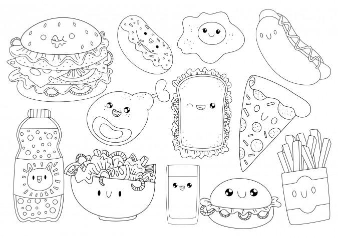 Immagini Di Animali Kawaii Da Disegnare