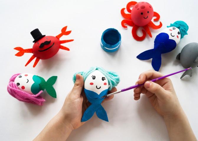 Lavoretti a tema mare: 5 idee creative da fare con i bambini