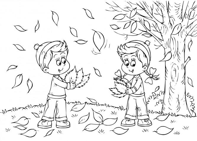Disegni autunno da colorare: 15 immagini gratis che vorrai scaricare