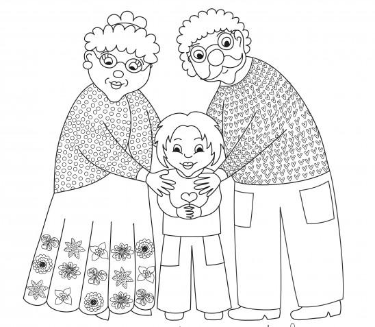 Lavoretti per la festa dei nonni da colorare: 7 immagini tenere da scaricare gratis