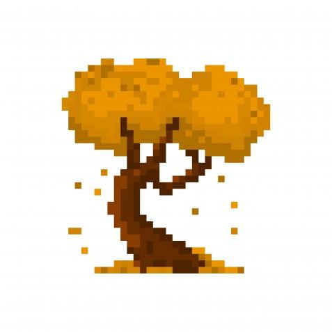Pixel art autunno: 11 immagini da scaricare gratis