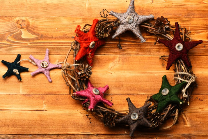 Ghirlande natalizie fai da te: 9 idee facili e particolari