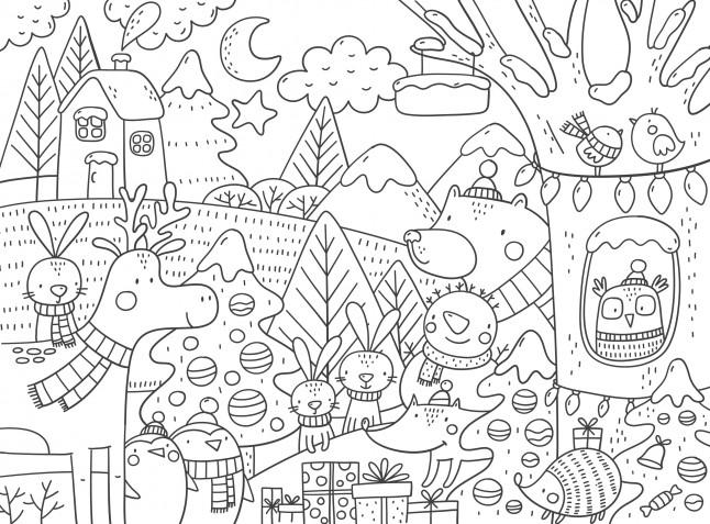 Disegni natalizi da colorare: 13 immagini gratis che vorrai scaricare subito