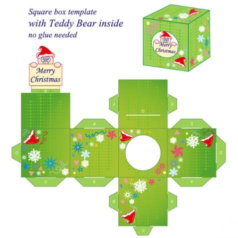 Scatole di Natale fai da te da stampare e costruire: 7 modelli gratis imperdibili