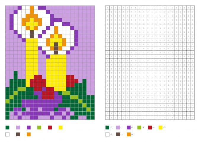 Coding natalizio bambini: 7 schede gratis per la pixel art di Natale