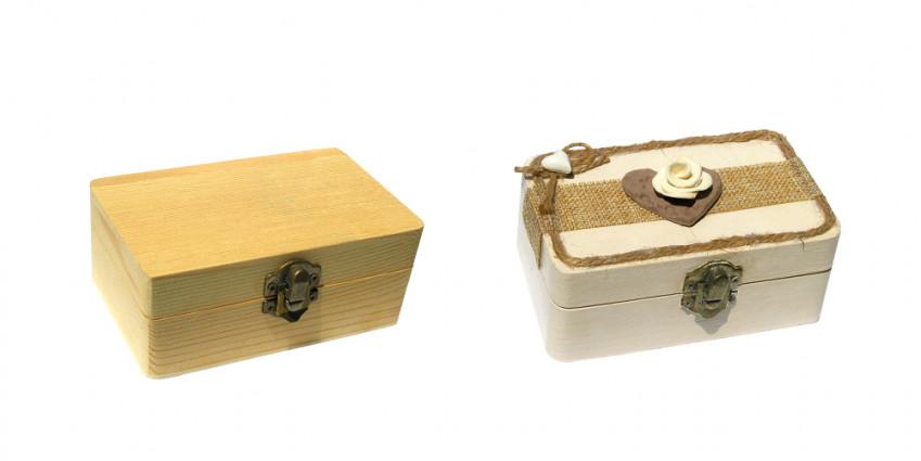 Come decorare una scatola con il decoupage con la stoffa