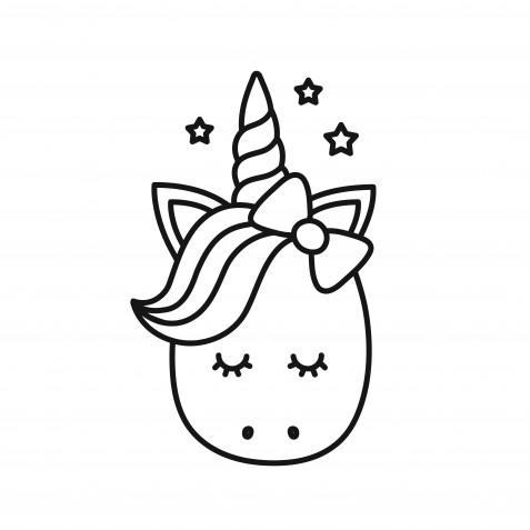 Disegni Unicorno Kawaii Da Colorare 7 Immagini Gratis Da Non