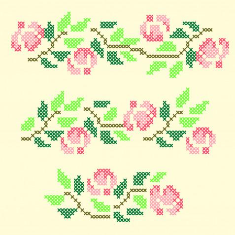 Schemi punto croce fiori: i più belli da scaricare gratis