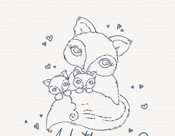 Disegni da colorare per la festa della mamma: 12 immagini gratis
