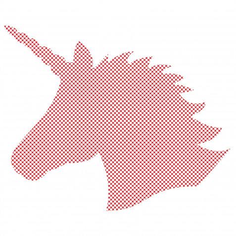 Punto croce unicorno: 5 schemi da scaricare gratis