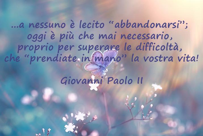 Frasi Sulla Mamma Giovanni Paolo Ii.Giovanni Paolo Ii 5 Immagini Con Frasi Per L Anniversario Della Nascita Donnad