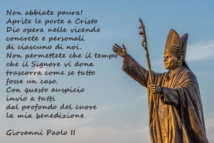 Giovanni Paolo II: 5 immagini con frasi per l'anniversario della nascita