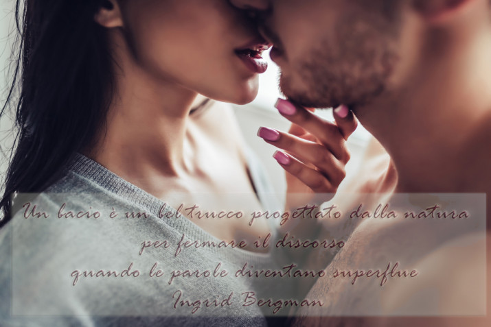Giornata mondiale del bacio: 5 immagini con frasi sensuali