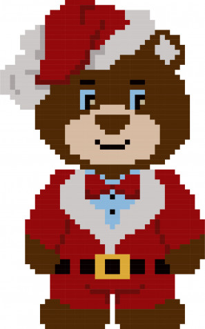 Punto croce orsetti: 9 schemi gratis per i ricami dei bambini