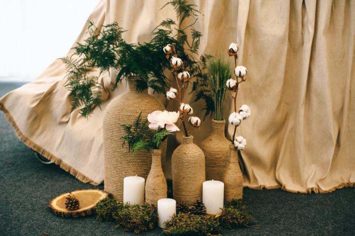 Centrotavola matrimonio rustico: 5 composizioni a cui ispirarsi
