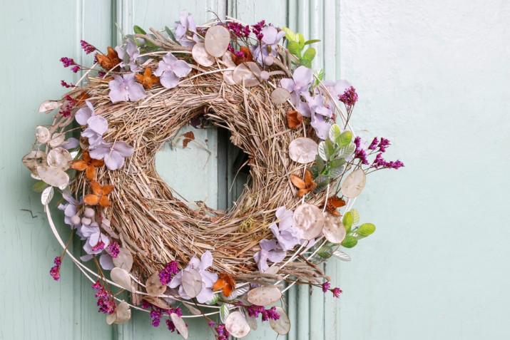 Ghirlanda autunnale fai da te: 9 decorazioni da fare a casa