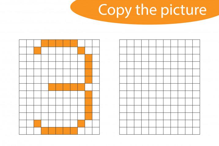 Pixel art numeri: gli schemi da scaricare gratis