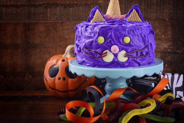 Torte Halloween decorate con panna: 7 idee per le decorazioni