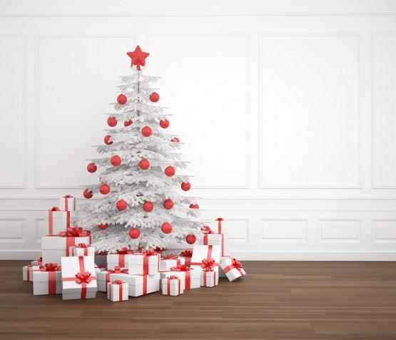 Come decorare un albero di Natale bianco: 9 idee d'effetto