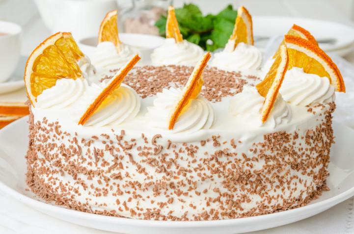 Torte decorate con arance: 11 idee per decorazioni semplici e belle