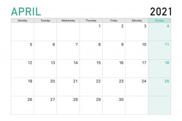 Calendario 2021 da stampare mese per mese: i modelli gratis