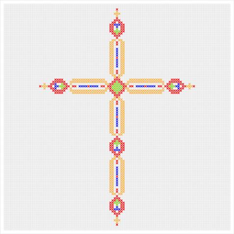 Punto croce Pasqua: 9 schemi gratis da non perdere
