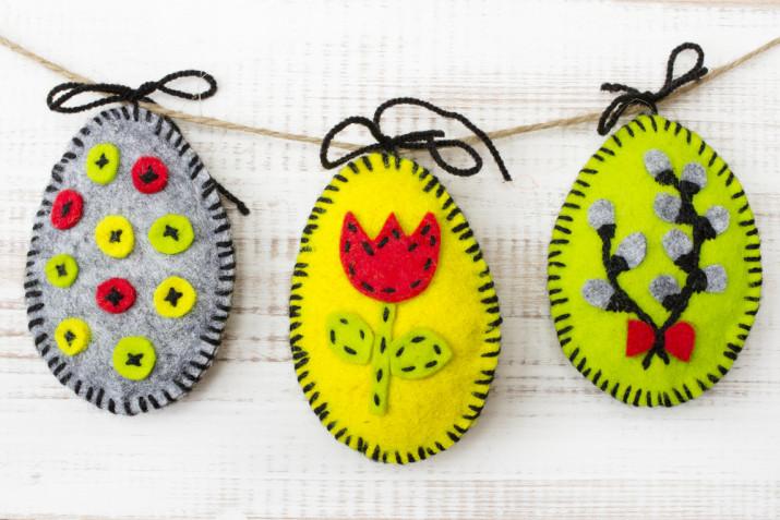 Lavoretti di Pasqua con pannolenci: come farli e 5 idee