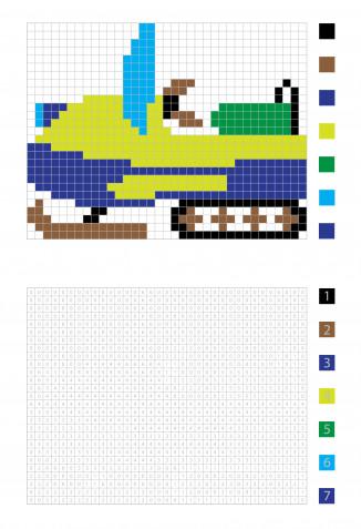 Pixel art inverno: 9 immagini da scaricare gratis