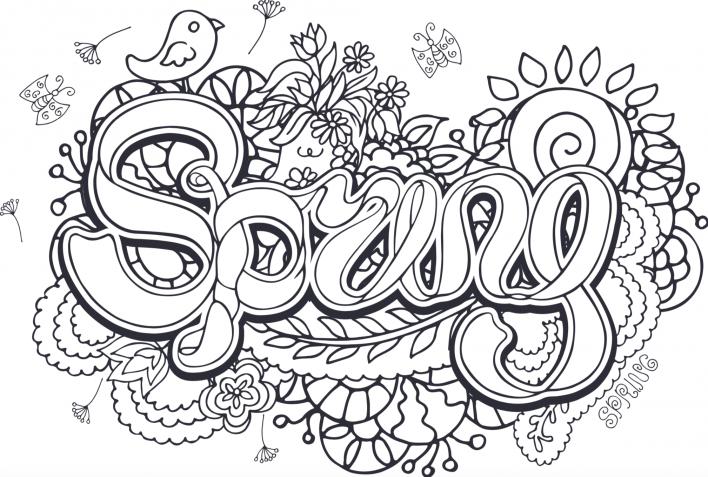 Disegni primaverili da colorare, i temi bellissimi da stampare