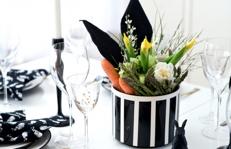 Centrotavola di Pasqua con fiori e ovetti: 7 idee fai da te