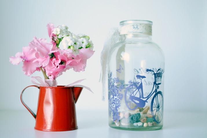 Come riempire un vaso di vetro trasparente: 11 idee per arredare